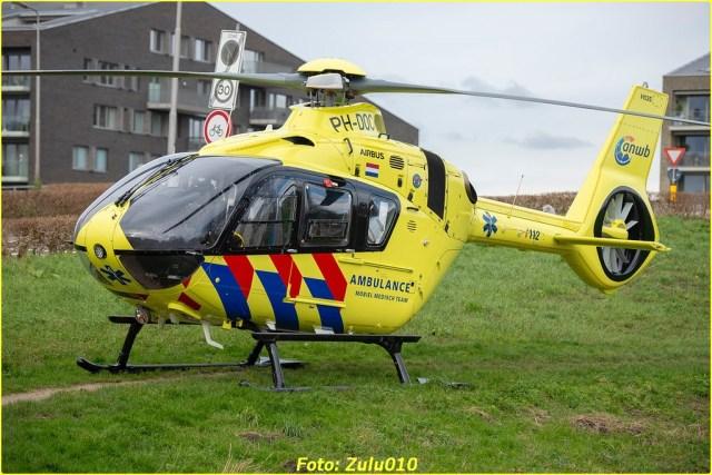 Lifeliner2 PH-DOC BKR Berkel en Rodenrijs Ranonkelweg 24-01-2021-7084-BorderMaker