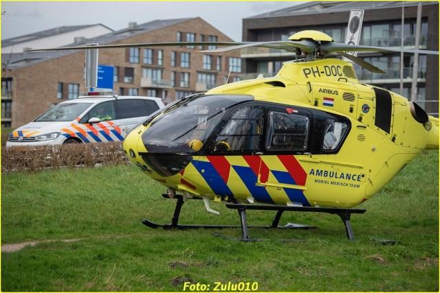 Lifeliner2 PH-DOC BKR Berkel en Rodenrijs Ranonkelweg 24-01-2021-7098-BorderMaker