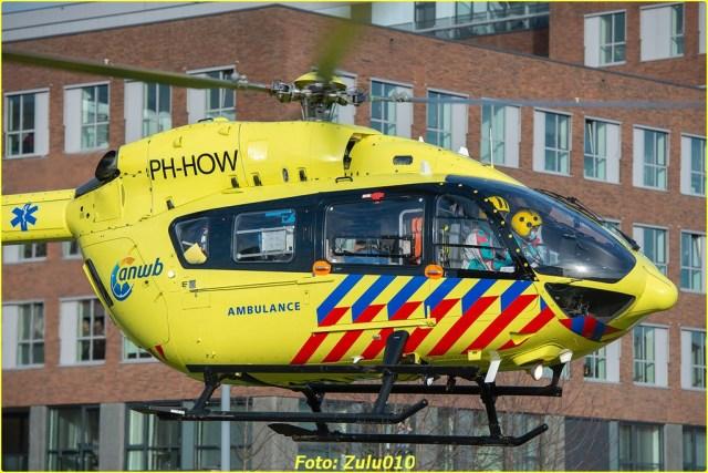 Lifeliner5 PH-HOW RTD Rotterdam Maasstad naar Groningen UMCG 22-01-2021-6994-BorderMaker