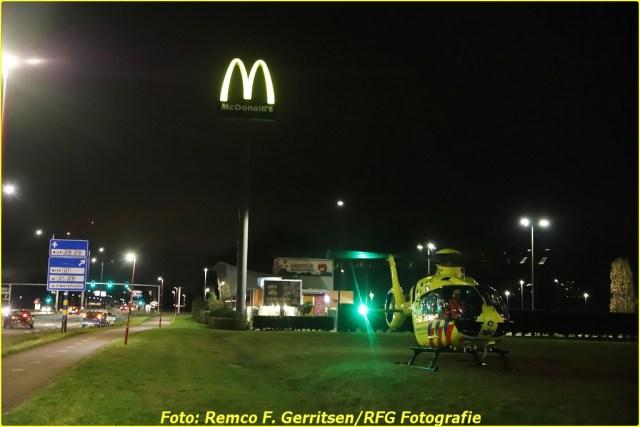 21-02-19 Prio 1 Steekpartij - Vijverdreef (Zoetermeer) - Lifeliner (4)-BorderMaker
