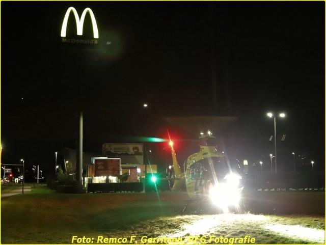 21-02-19 Prio 1 Steekpartij - Vijverdreef (Zoetermeer) - Lifeliner (5)-BorderMaker