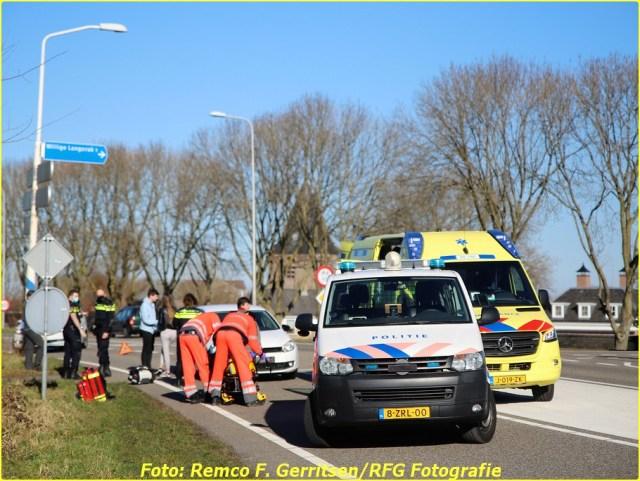 21-02-28 Prio 1 Verkeersongeval - Lekdijk-West (Schoonhoven) (5)-BorderMaker