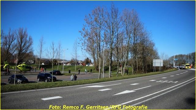 21-02-28 Prio 1 Verkeersongeval - Lekdijk-West (Schoonhoven) (6)-BorderMaker