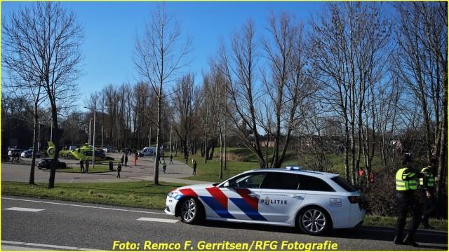 21-02-28 Prio 1 Verkeersongeval - Lekdijk-West (Schoonhoven) (8)-BorderMaker