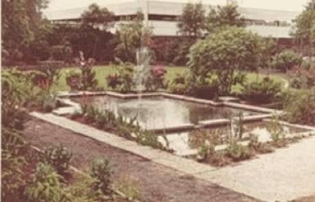 Garten aus dem Jahr 1970