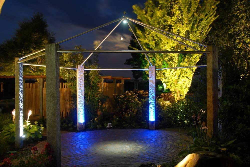Garten beleuchten Kleve Niederrhein