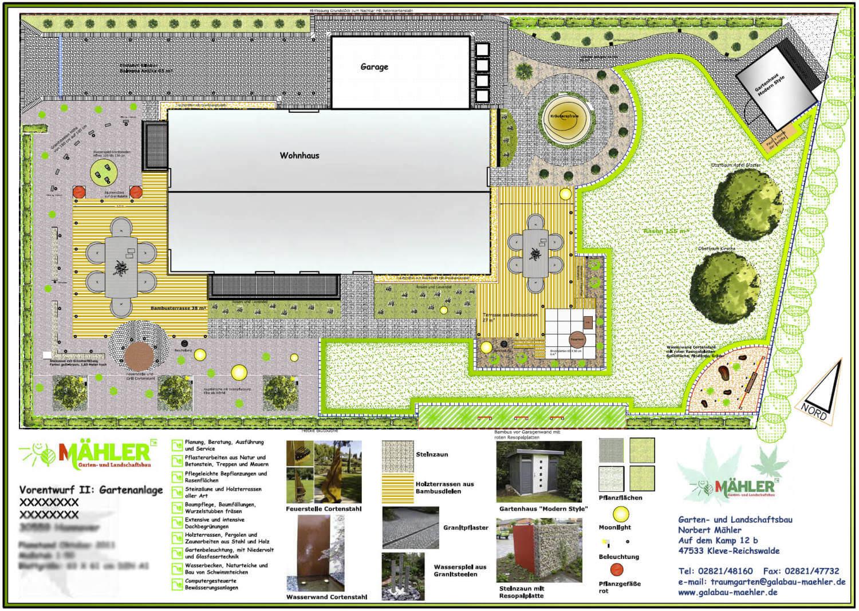 Gut Gartenplan Exklusiver Garten