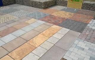 Schauflächen für Beton,- Klinker- und Naturstein