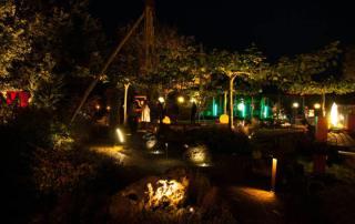 Kleve 2013 Nacht des Lichtes im Schaugarten