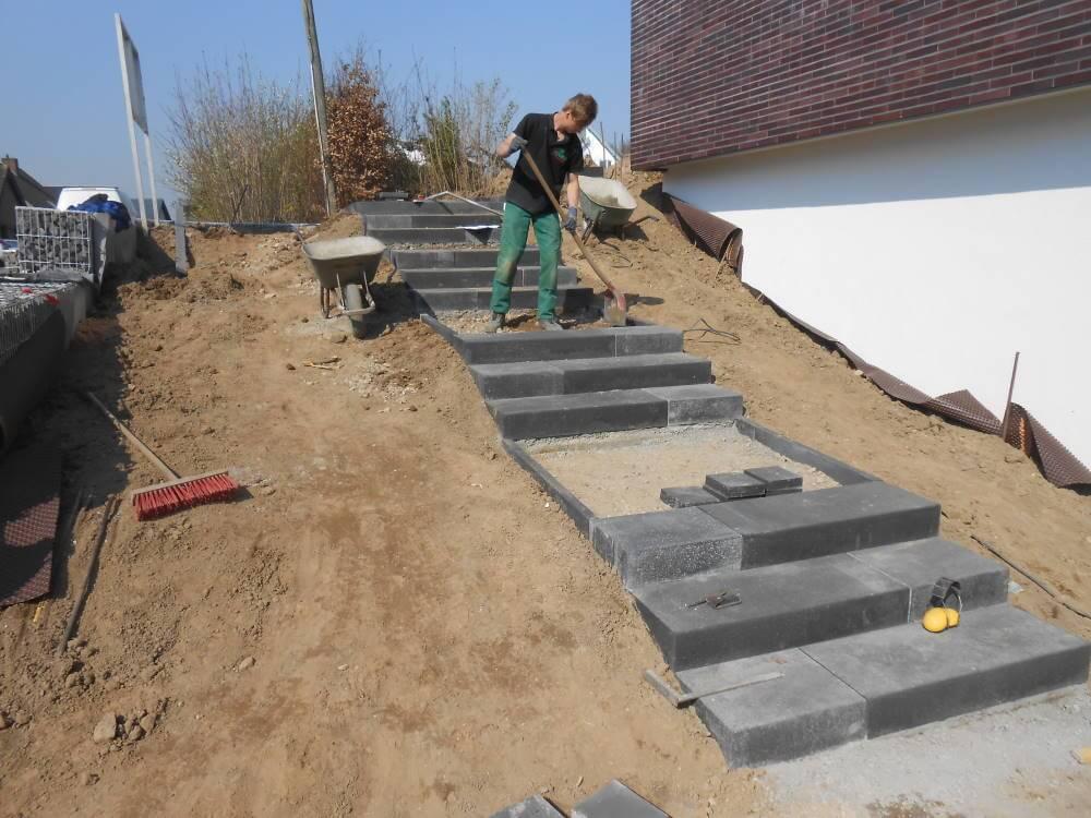 Der Bau von Treppenanlagen