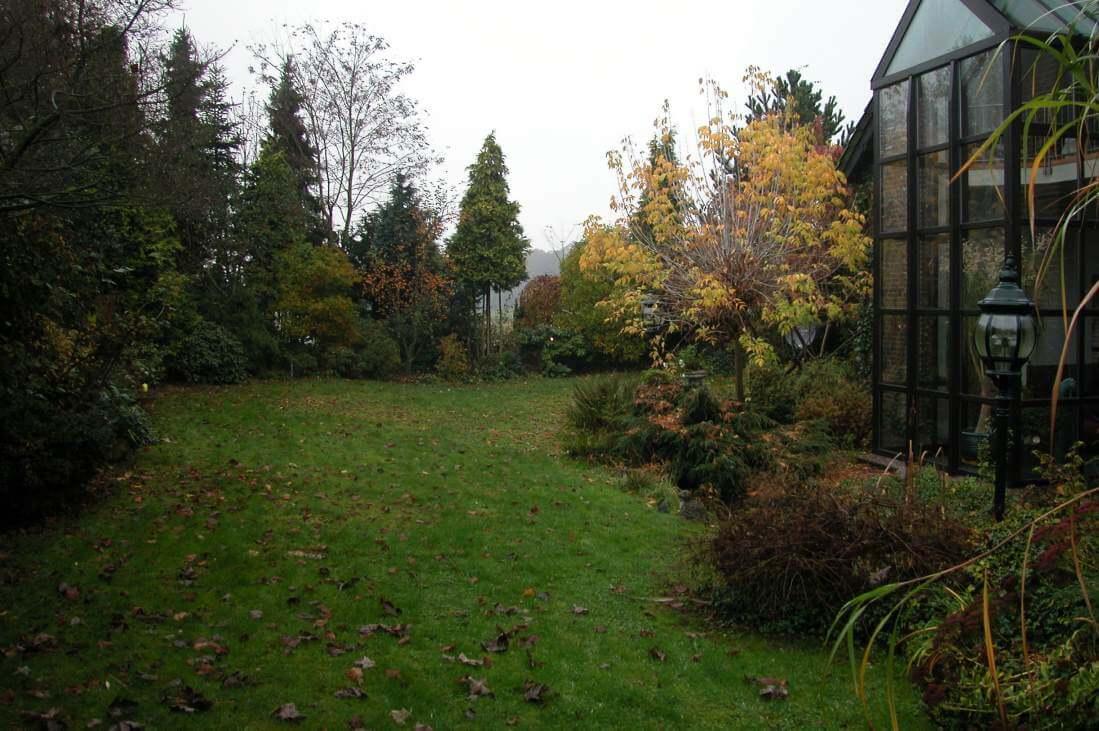 Umgestaltung in einen romantischen Garten