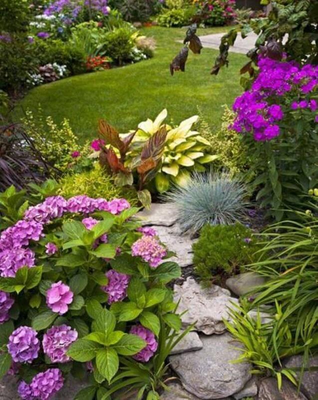 natürliche Gärten