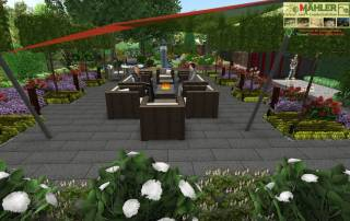 3D Gartenplan Kleve