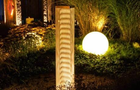 Garten beleuchten