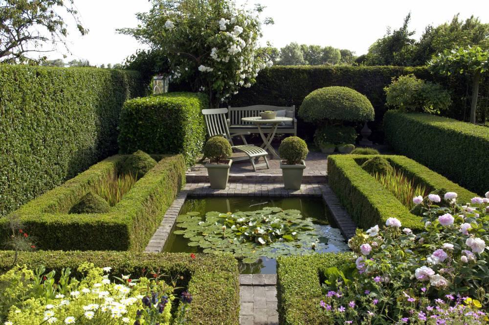 Garten der Formen anlegen