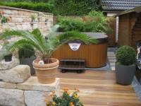 Garten im mediterranen Stil