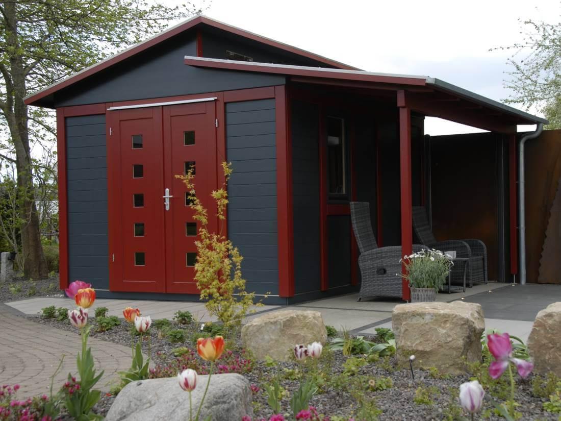 Gartenhaus modern Style