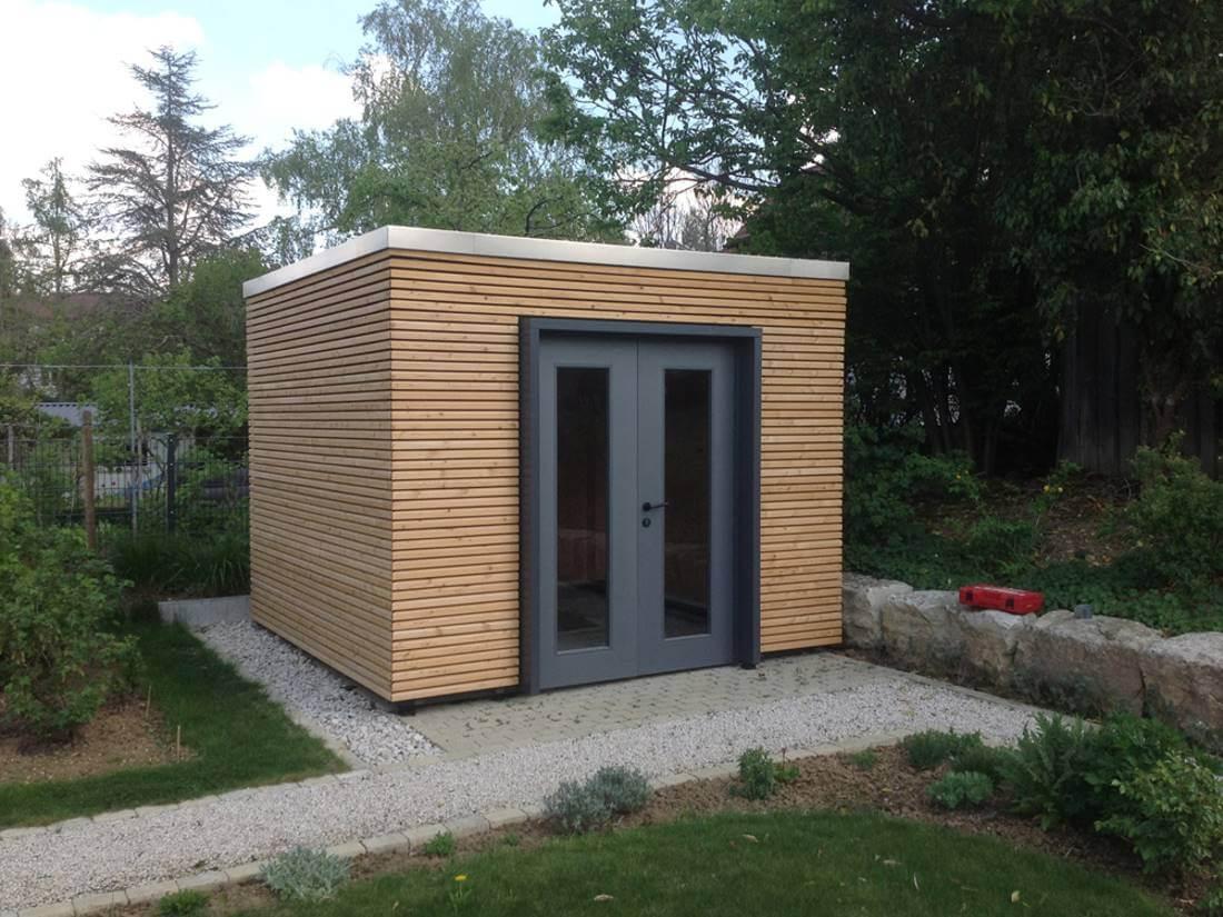Gartenhaus Mit Pultdach Modern