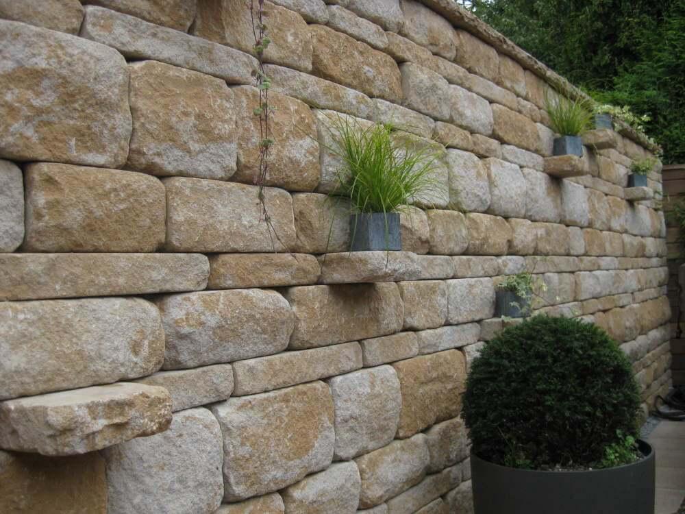 gartenmauer mediterran traumgarten