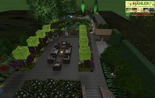 Gartenplanung in 3D