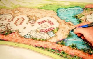 Der Gartenplan von Meisterhand