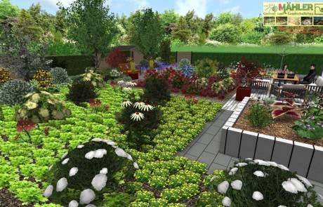Die Planung ihres Gartens in 3D
