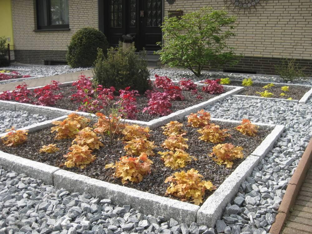 pflegeleichter vorgarten anlegen, pflegeleichter vorgarten | galabau mähler | vorgarten, Design ideen