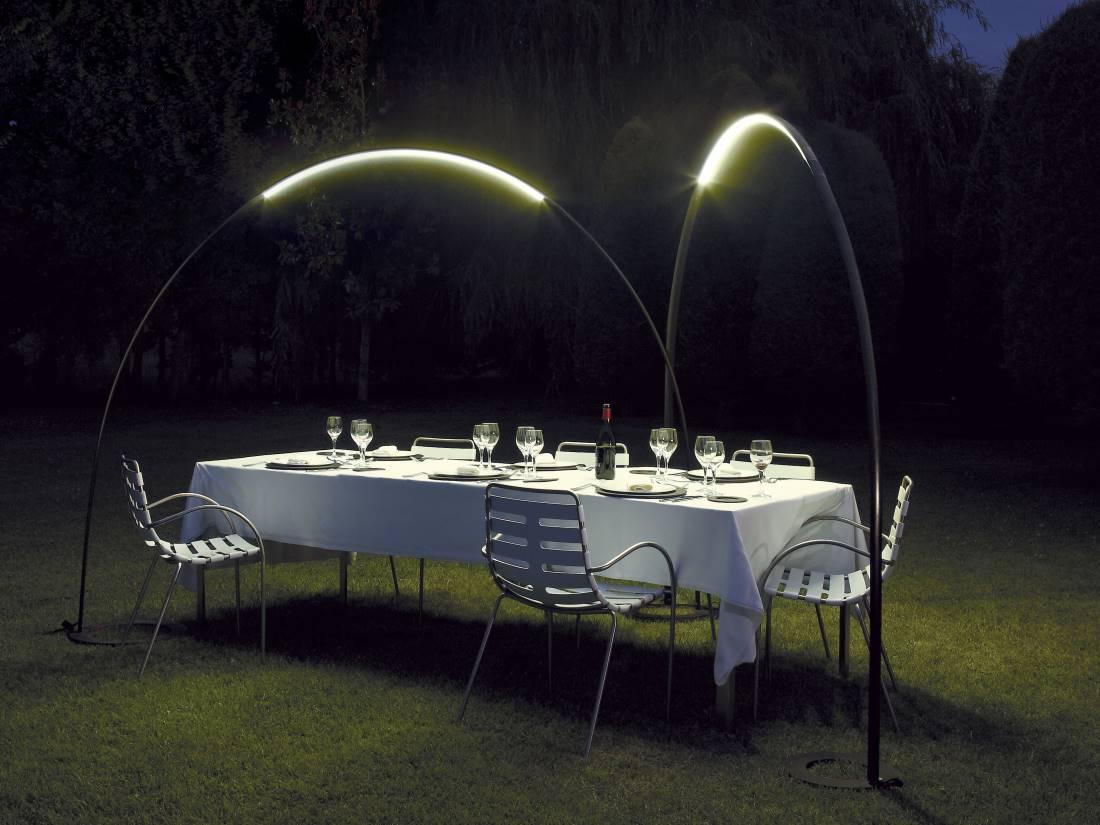 LED Tischleuchte Garten