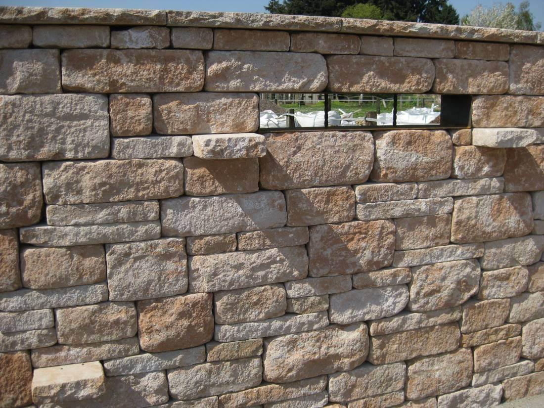 Santuro Mauer | Galabau Mähler | Betonmauer | Gartenmauer