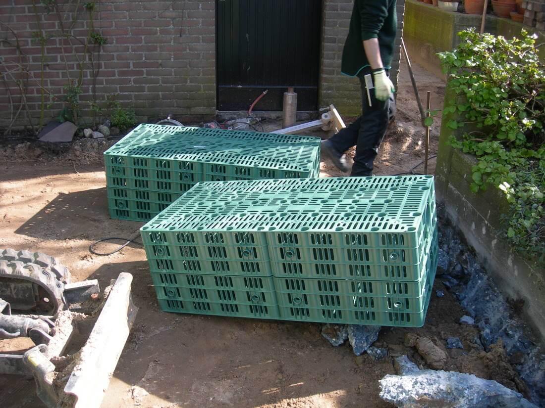 Relativ Regenwassergebühren Garten |Galabau Mähler|Versickerung EF53