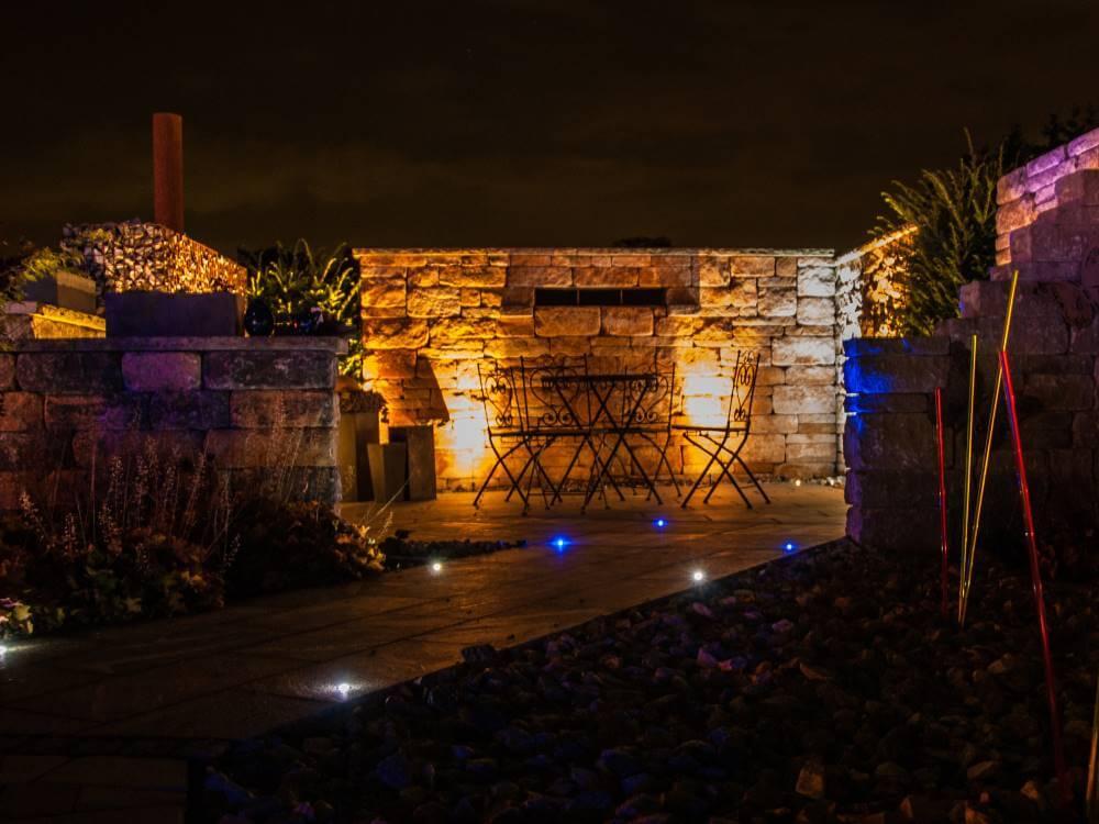 santuro mauer | galabau mähler | betonmauer | gartenmauer,