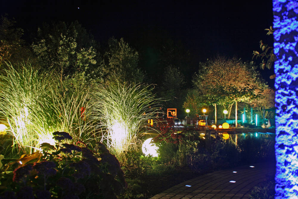 Schaugarten Nacht des Lichtes Kleve