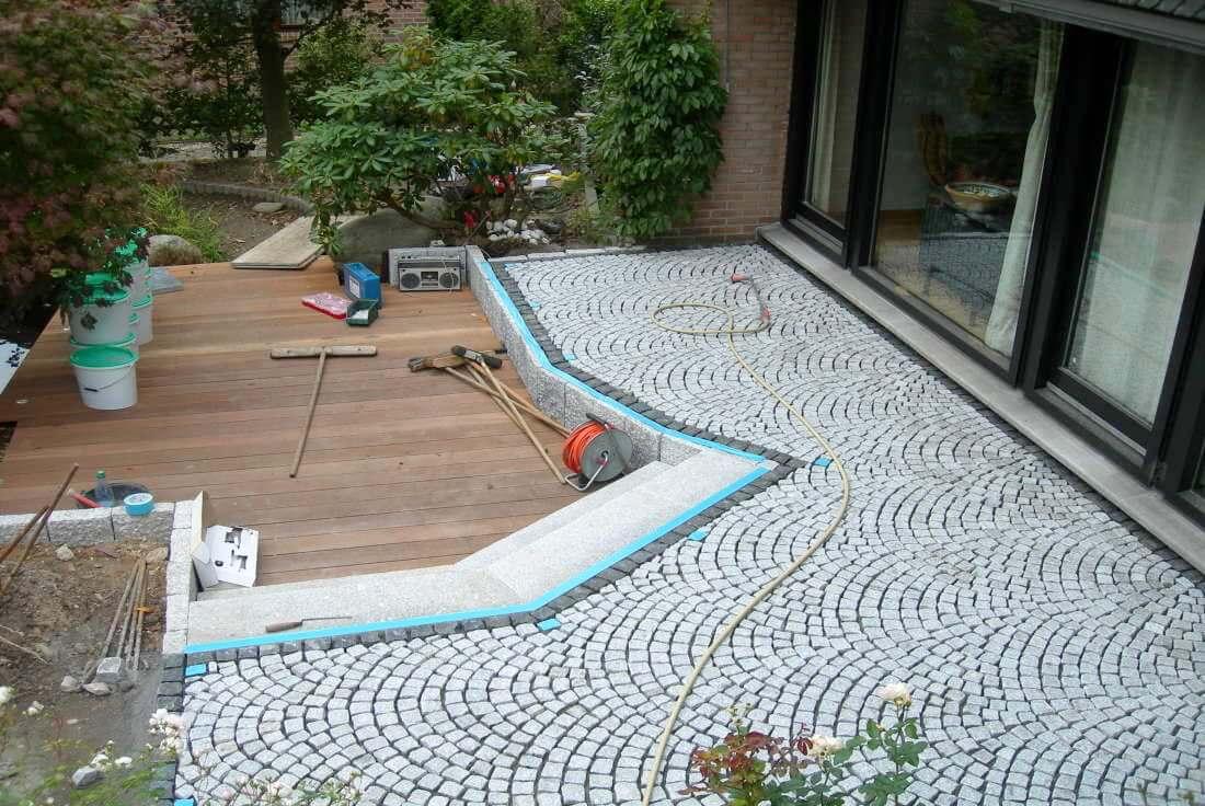 terrassen anlegen traumgarten. Black Bedroom Furniture Sets. Home Design Ideas