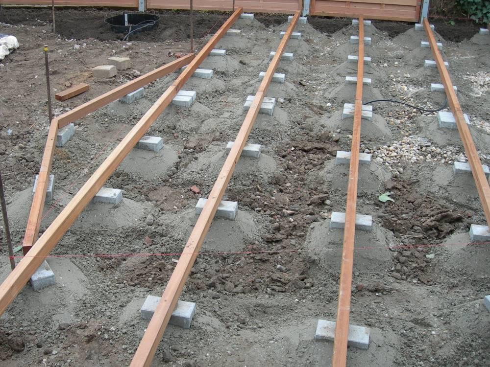 Unterbau Holzterasse Stunning Split Als Unterbau Einbringen With