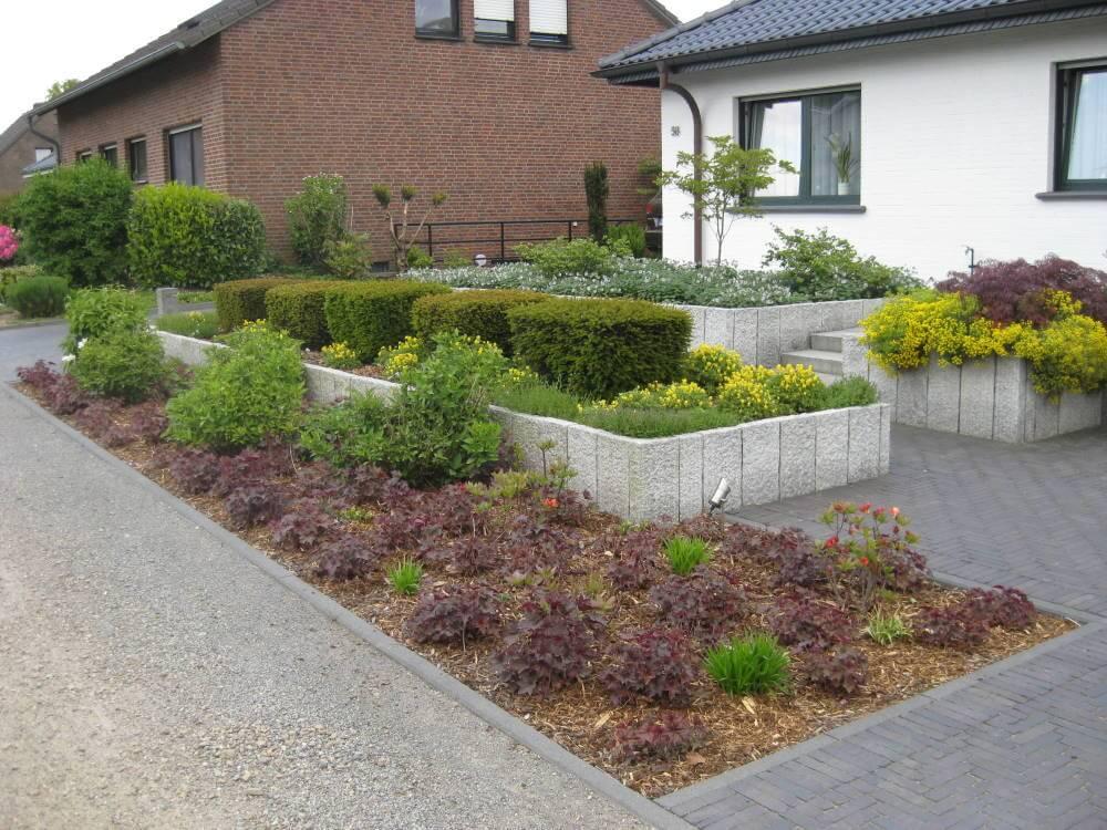 Vorgarten  Galabau Mhler  Vorgarten gestalten