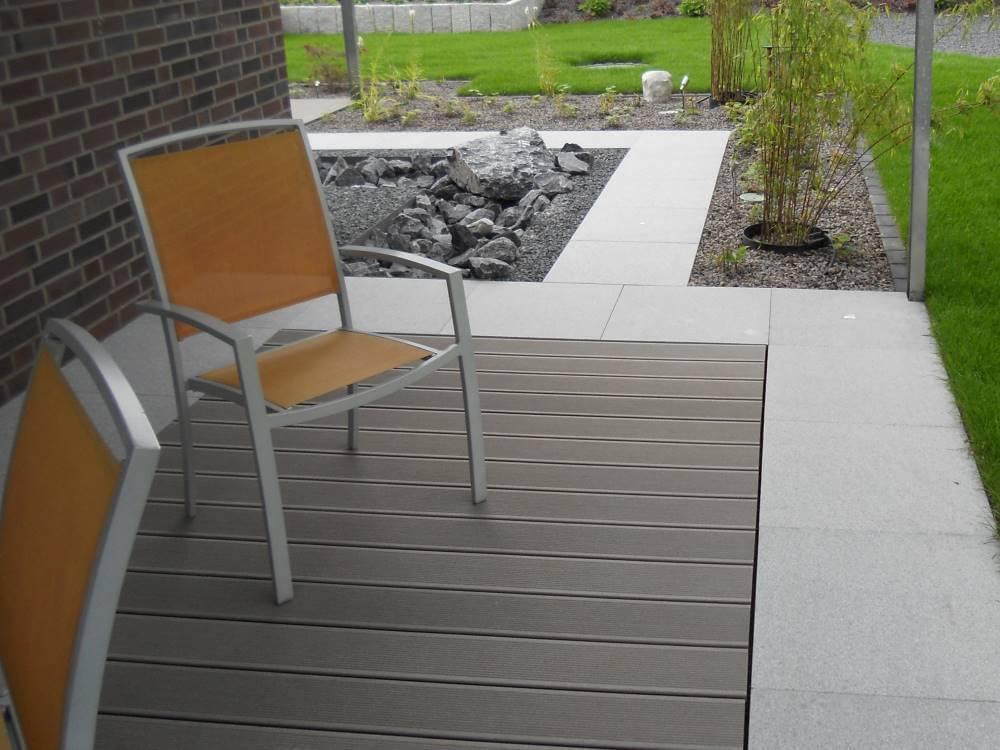 WPC Terrasse | Galabau Mähler | WPC Garten Kleve
