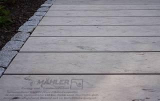 Terrassendielen aus WPC Farbe sand