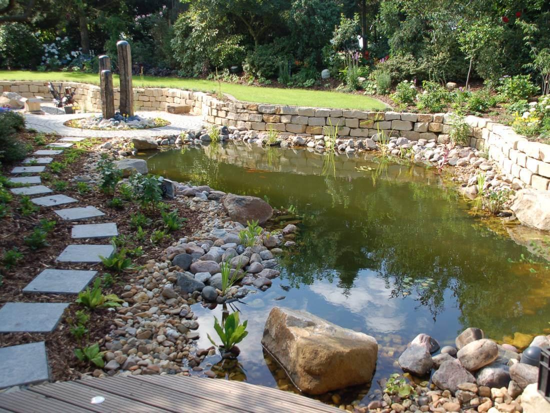 Zierteich Garten