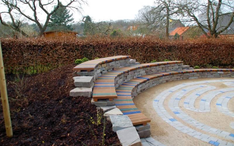 Umgestaltung des Schulgarten in Kleve-Reichswalde