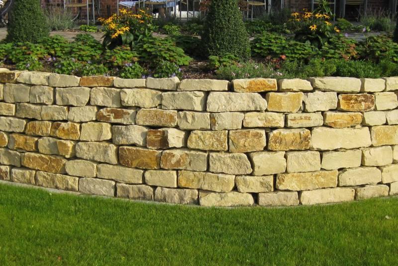 Garten Mauer