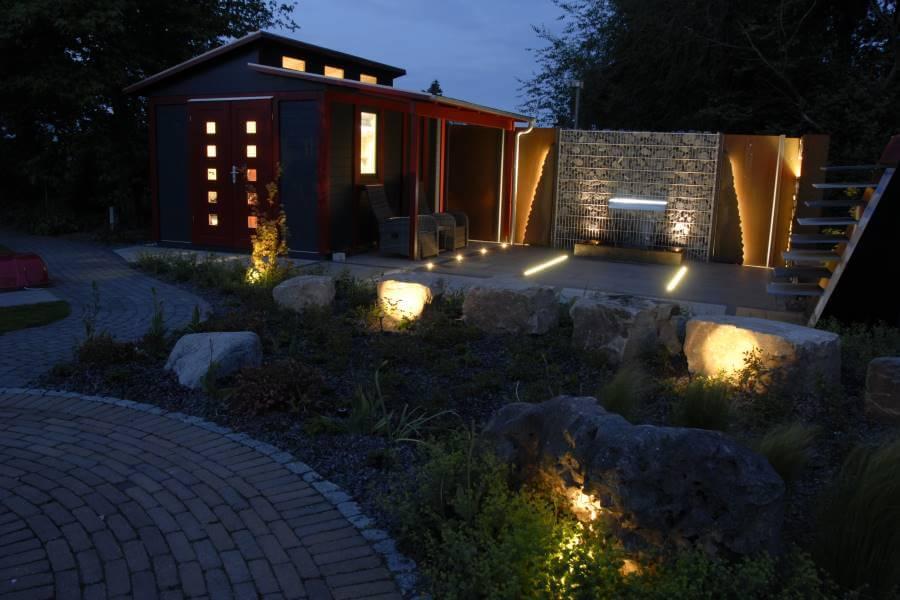garten beleuchten | galabau mähler | gartenbeleuchtung, Garten Ideen