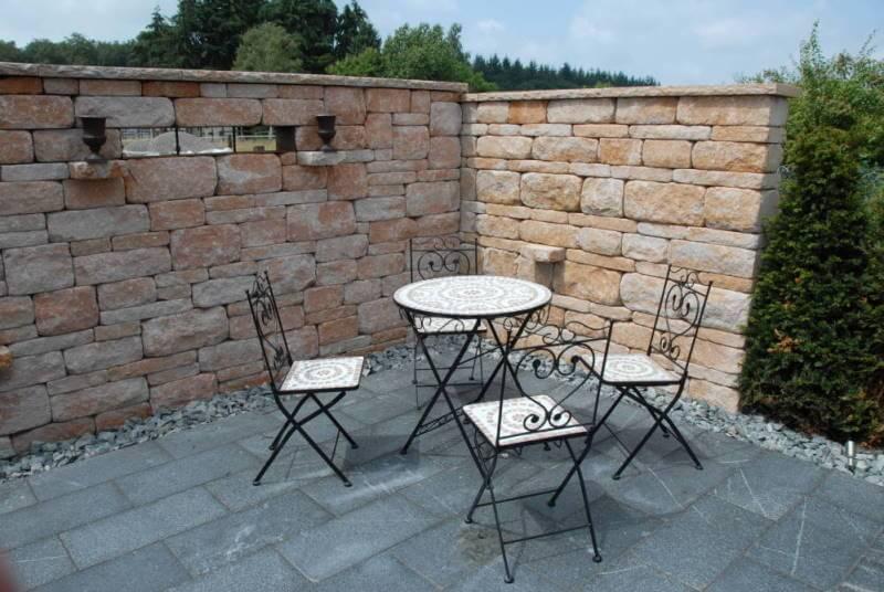 steinmauer sichtschutz garten wapdesire wapdesire | designmore, Hause und garten