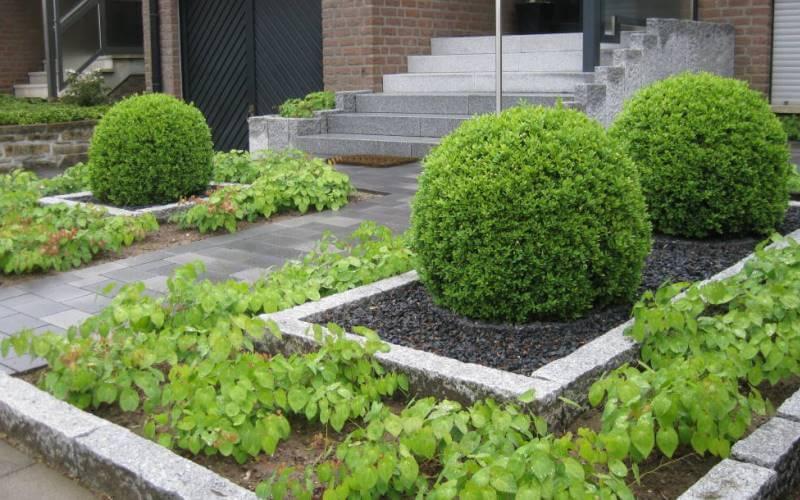 Vorgarten gestalten Beispiel
