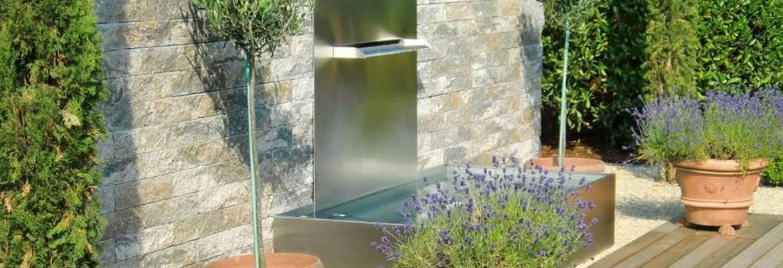 Brunnen Edelstahl