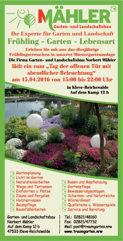 Tag des offenen Garten 2016