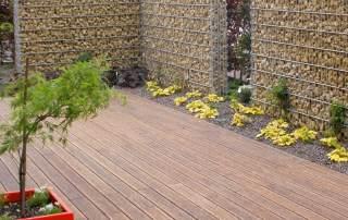 Bambus Terrasse in Kleve