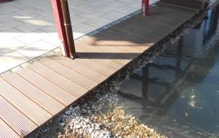 Steg aus Bambus