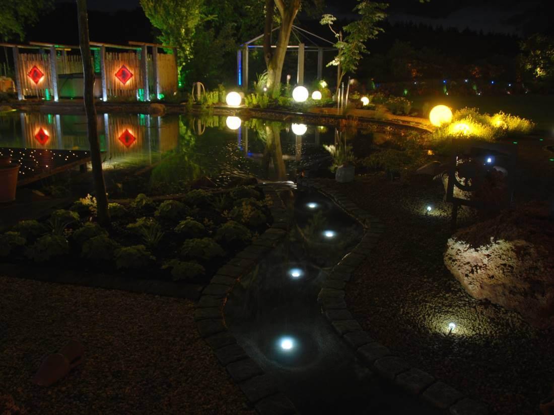 Gartenbeleuchtung mit LED in Kleve