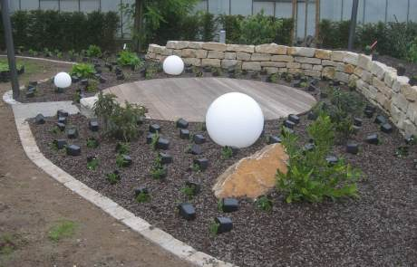 Lava für den Garten