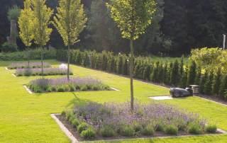Lavamulch für den Garten